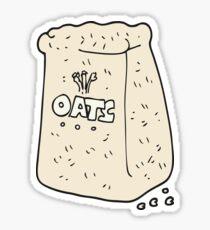 cartoon oats Sticker