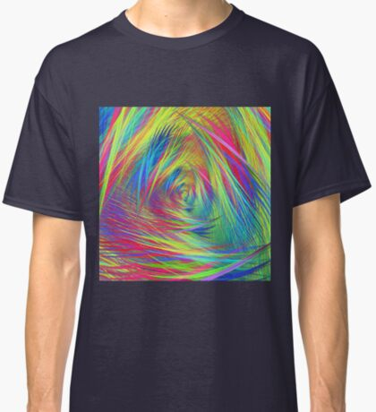 Forma 3 chaos continuous #fractal art Classic T-Shirt