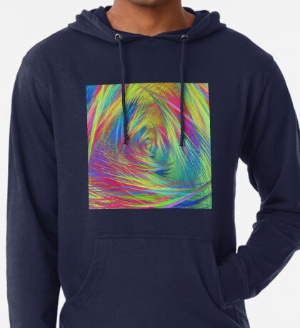 Forma 3 chaos continuous #fractal art Lightweight Hoodie