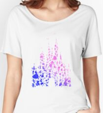 Character Castle Inspired Silhouette Women's Relaxed Fit T-Shirt