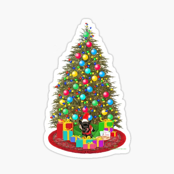 Cookies for Santa Claus Sticker