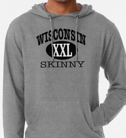 Wisconsin Skinny XXL Lightweight Hoodie