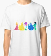 Princesses Inspired Silhouette Classic T-Shirt