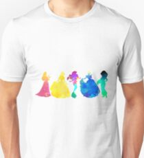 Princesses Inspired Silhouette T-Shirt