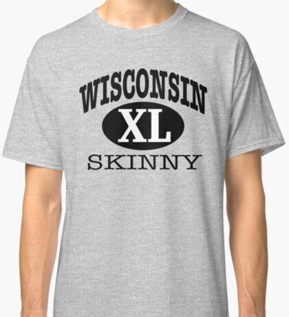 Wisconsin Skinny XL Athletic Classic T-Shirt