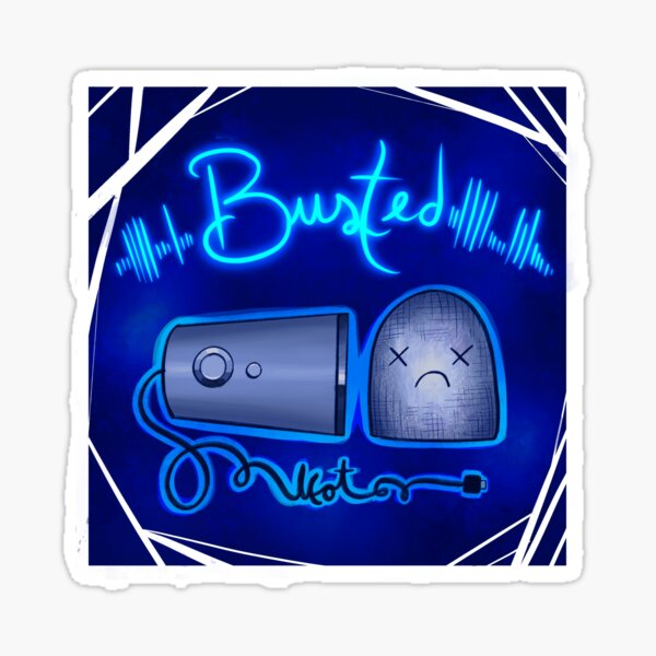 IT'S BUSTED Sticker