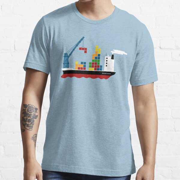 Cargo Tetris Ship Essential T-Shirt