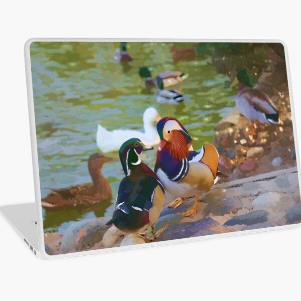 Mandarin Ducks Laptop Skin