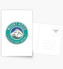 MOUNT HOOD OREGON CASCADE RANGE CASCADES WY'EAST TEAL Postcards