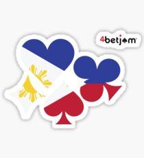 Philippines Poker Sticker