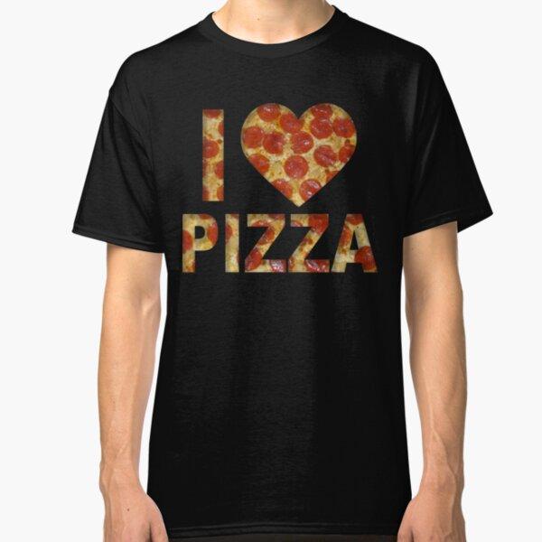 I LOVE PIZZA PIZZA LOVER PEPPERONI  Classic T-Shirt