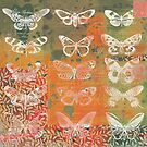 Autumn Butterfly Collage by Carolynne