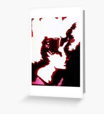 A Dark Mind - Inner Rage Greeting Card