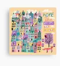 Home... Canvas Print