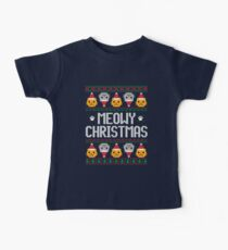 Ugly Christmas Sweater - Cat Baby Tee