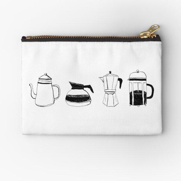Coffee Pots Zipper Pouch