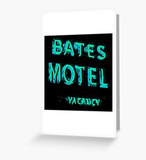 Bates Motel Greeting Card