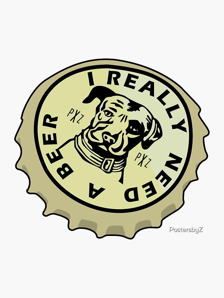 Lagunitas Bier Aufkleber von PostersbyZ