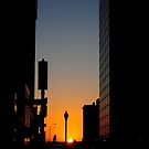 Sundown Downtown by CjbPhotography