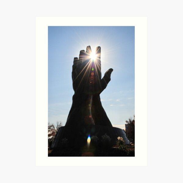 Reach For The Sun Art Print