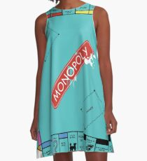Monopoly Board A-Line Dress