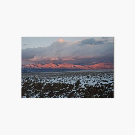 Taos Mountains Art Board Print
