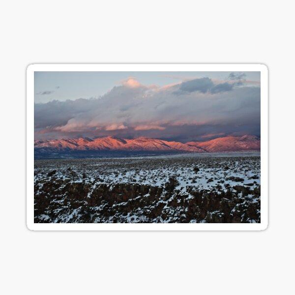 Taos Mountains Sticker