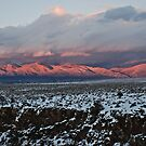 Taos Mountains by CjbPhotography