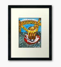Almond latte #2 Framed Print