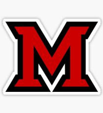 Miami University Sticker