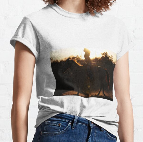 Riding with the sun Classic T-Shirt