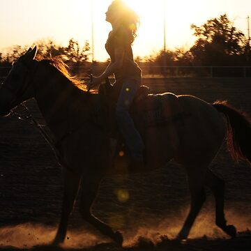 Riding with the sun by CjbPhotography