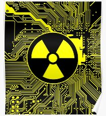 Cybergoth - Radioactive (Yellow) Poster