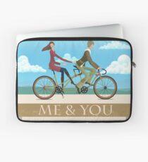 Me & You Bike Laptop Sleeve