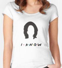Monica Geller Women's Fitted Scoop T-Shirt