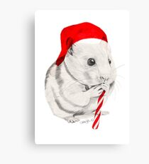 CHRISTMAS HAMSTER Canvas Print