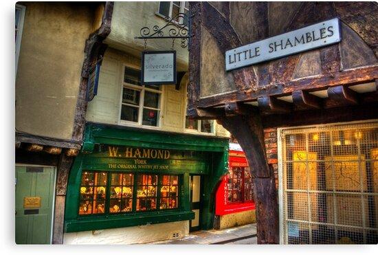 Little Shambles - York by Trevor Kersley