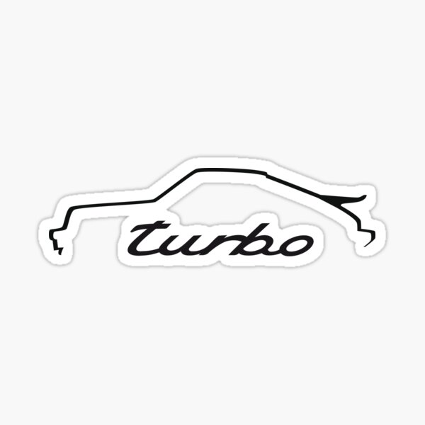 Porsche 911 turbo Sticker