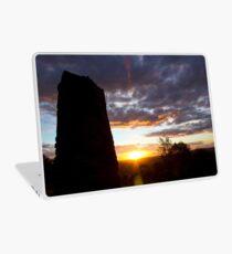 Sculpture Sunset Laptop Skin