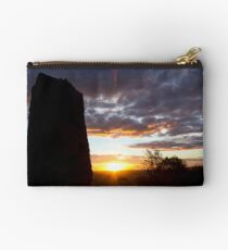 Sculpture Sunset Studio Pouch