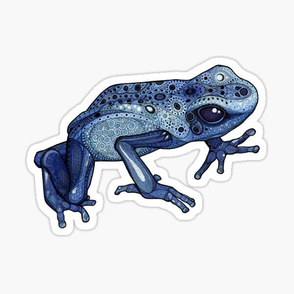 Poison Dart Frog Sticker