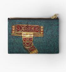 Sutton Hoo bag clasp 625 630 AD 19840212 0038 Studio Pouch
