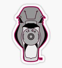 Mallard Down Logo Hot Pink Sticker