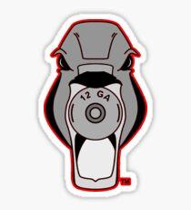 Mallard Down Red Logo Sticker