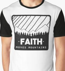 Faith Moves Mountains Graphic T-Shirt