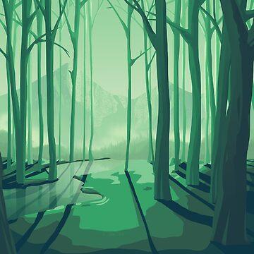 Forest II by ashraae