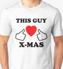 This Guy Loves X-Mas Unisex T-Shirt