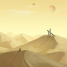 Desert Landscape by ashraae