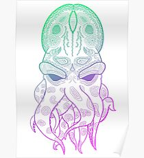 Octopus Graphic Poster