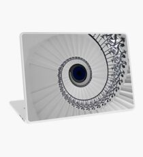 Tulip Staircase, Queens House, Greenwich, England Laptop Skin